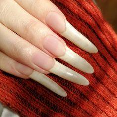 Long Fingernails, Long Nails, Long Natural Nails, Healthy Nails, Makeup Looks, Lips, Beauty, Instagram, Cute Nails