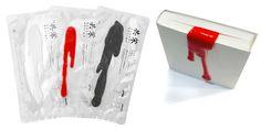 Handmade liquid bookmark by kouichi okamoto. // Punto de libro líquido hecho a mano por kouichi okamoto.