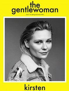 the gentle woman Kirsten Dunst 2016