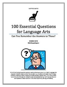 essential questions for writing Planning guide english language arts essential questions a set of resources to support writing essential questions for english language arts that includes sentence.