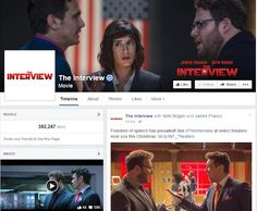 """Sony to release """"The Interview""""; theaters in US where you can see it http://buff.ly/1CCaWJ2"""