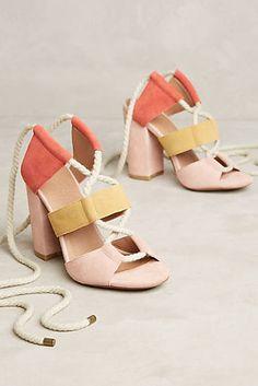Bettye Muller Calypso Lace-Up Heels
