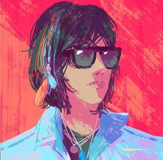 Colorful Portraits of Musicians by Tuna Bora