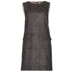 mytheresa.com - Plaid felt dress - Luxury Fashion for Women / Designer clothing, shoes, bags