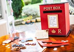 Wooden wedding accessories from The Happy Wedding Co.