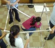 Build a cubic meter using rolled up newspaper + lots of other math centers/activity idea aligned with the CCSS