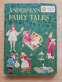 Vintage children's 2 Covers Anderson's Fairy Tales ILLUSTRATED