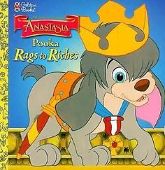 Anastasia: Pooka Rags to Riches by Margo Lundell Paperback) for sale online Disney Anastasia, Cartoon Characters, Fictional Characters, Little Golden Books, Story Time, Childrens Books, Pikachu, Comic Books, Comics