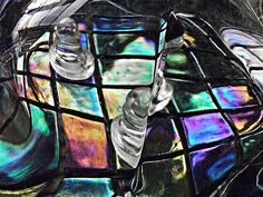 Glass Abstract 368     by S Loft