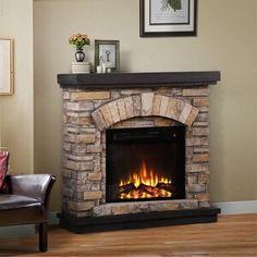 Pearl Mantels Hadley Fireplace Shelf Mantel & Reviews | Wayfair Fireplace Mantel Surrounds, Fireplace Shelves, Home Fireplace, Fireplace Inserts, Fireplace Remodel, Fireplace Ideas, Farmhouse Fireplace, Brick Fireplace, Fireplace Design