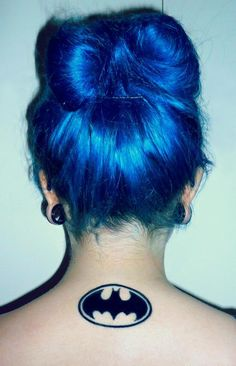 Love the hair, love the tattoo (not the placement), love the stretched ears