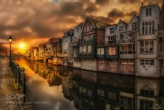 Reflections of Gorinchem III by Brains11