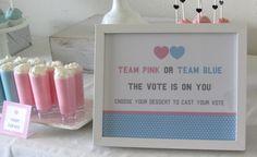 Team Pink or Team Blue: Gender Reveal Party –