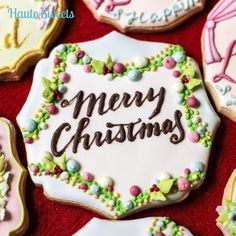 Colorful Garland Cookie   Cookie Connection