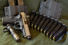 Full Load Out M&P Full Size 9mm ATEi Guns Custom Milling with Trijicon RMR