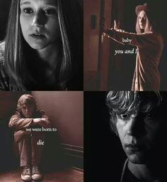 Violet and tate :) Ahs