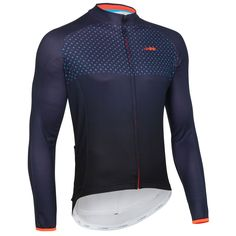 wiggle.com | dhb Blok Long Sleeve Micro Roubaix Jersey | Long Sleeve Jerseys