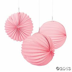 Small Pink Party Lanterns - Oriental Trading