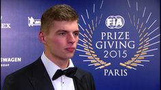 2015 FIA Prize Giving - Max Verstappen Interview