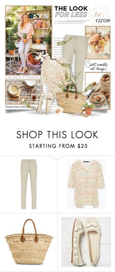 """Look For Less: Lauren Conrad"" by thewondersoffashion ❤ liked on Polyvore featuring Plum Pretty Sugar, Lauren Conrad, Sandwich, Zara, Merona, American Eagle Outfitters, zara, laurenconrad, target and Spring2015"