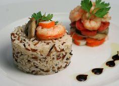 Ensalada de arroz basmati con gambas para #Mycook http://www.mycook.es/cocina/receta/ensalada-de-arroz-basmati-con-gambas