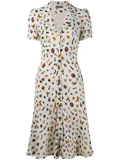 Shop Alexander McQueen Obsession print shirt dress from our Day Dresses collection. Day Dresses, Casual Dresses, Fashion Dresses, Dresses For Work, Summer Dresses, Alexander Mcqueen, Vestidos Vintage, Vintage Dresses, Mid Length Dresses