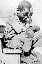 Enslaved Children. The look of despair in the countenance of this child is heartbreaking.