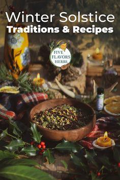 Winter Solstice Rituals, Winter Solstice Traditions, Yule Crafts, Potpourri Recipes, Plant Magic, Yule Decorations, Medicinal Plants, Christmas Diy, The Help