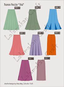 Creativity Tutorial: Pesan Pola Busana Fashion 101, Hijab Fashion, Fashion Dresses, Womens Fashion, Model Rok Kebaya, Hijab Dress Party, Muslim Dress, Fashion Design Drawings, Islamic Fashion