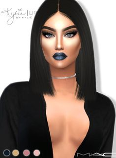 Sims 4 CC's - The Best: Metal Mattes Lipstick by Mac Cosimetics