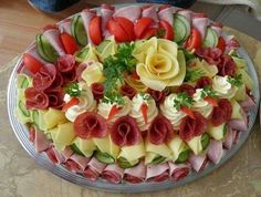 Creative Cheese, Meat Tray
