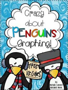 This graphing math pack is a must have!!! This unit runs for one week and includes everything you need to teach data management ~ about penguins!