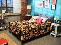 new girl bedroom paint color. bedroom paint color. the lovely side jess apartment new girl go for industrial or color r