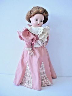Lovely Old Effanbee Anne Shirley Composition Doll Historical Series 1896 #Effanbee