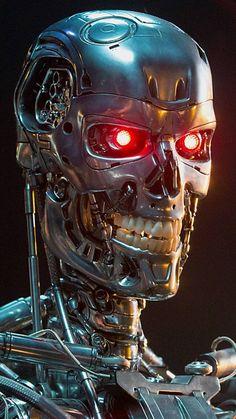 Terminator : Dark Fate – Spanish Movie Wall Poster Print - x / 17 inches x 24 inches T 800 Terminator, Terminator Movies, Skynet Terminator, Terminator Costume, Arnold Schwarzenegger, Science Fiction, Robot Wallpaper, Sci Fi Fantasy, Horror Movies