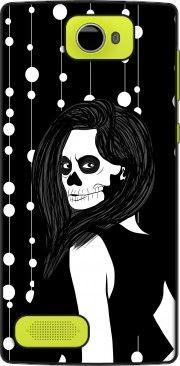 Coque Archos 50 Diamond Lady Skull garland
