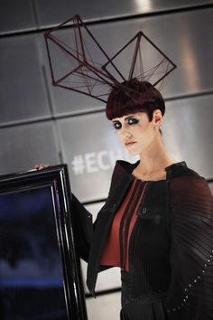 Austerity chic for #Echo, 2013 Haute Couture #hair trend by Alexis Ferrer and Marcos Leonardo  #beauty