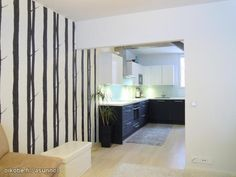 Black and white wallpaper / Mustavalkoinen tapetti