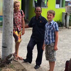 The security at Puri Hijau took a real shine to the boys! #purihijau #upsticksandgo #travelgram #travelphotos #travellingtheworld #lifeontheroad #lombok #sayinggoodbye #indonesia #travellingwithkids | Flickr - Photo Sharing!