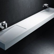 Plan vasque double Corian® by DuPont™ Canada