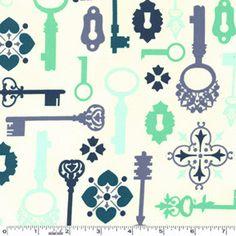 Secret Garden Lock and Key Mint