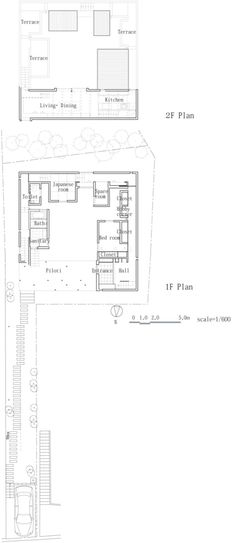 """Unlike the open plan entrance in """"House at Big Hill"""" this design is structured in how a person is to approach and circulate through the rooms. Starting on the veranda through the front door and down a long doorless hallway which eventually opens into a large space, and its connecting enclosed rooms. A completely different experience than """"House at Big Hill"""" where freedom and space is a large concept."""