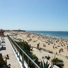 Missing the #beach already? #Lisbon #Portugal #Carcavelos