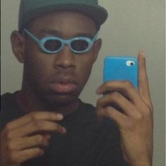 But he understands the importance of a good selfie. | 25 Reasons I Really Want To Hang Out With Tyler, The Creator