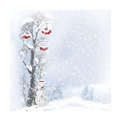 Snow paintings by Sarah Designs_p2 ❤ liked on Polyvore