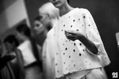 Backstage at Damir Doma Womens, Spring/Summer 2014 | Paris