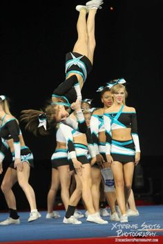 Cheer Extreme... I would cheer at that gym in a heartbeat!