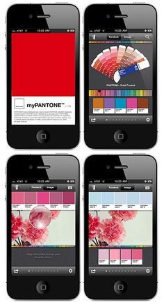 myPANTONE: capture and extract colors from photos and snap to the closest PANTONE Color
