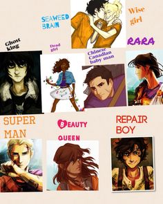 Heroes of Olympus Percy Jackson Characters, Percy Jackson Books, Percy Jackson Fandom, Rick Riordan, Will Solace, Leo Valdez, Fandoms Unite, Percabeth, Book Memes