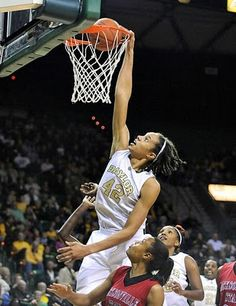 Brittney Griner - Who says women can't Dunk!!!